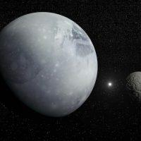 Pluto och dess måne