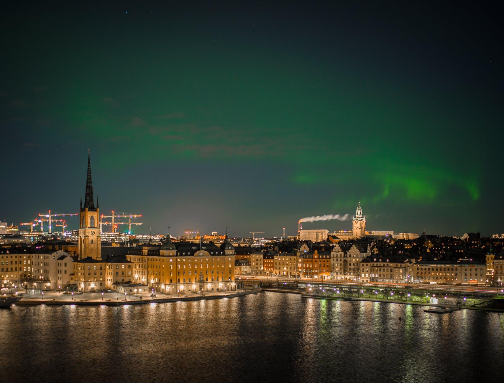 Norrsken i Stockholm